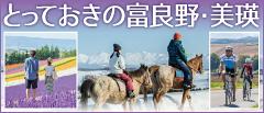 富良野美瑛広域観光推進協議会公式サイト「田園休暇」