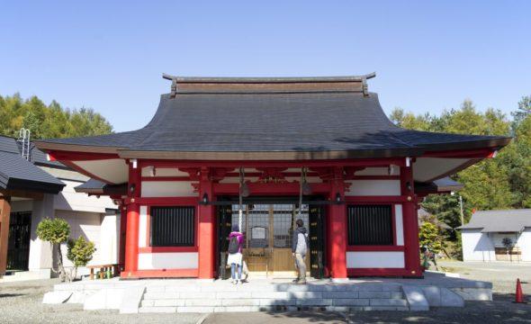 イメージ図/中富良野神社