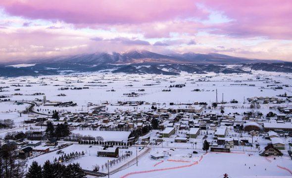 町営ラベンダー園/北星山スキー場