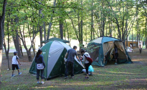 中富良野森林公園キャンプ場